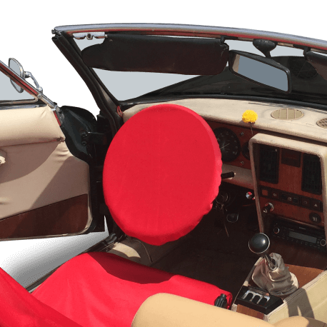 Protection de volant sur Fiat 124 Spider