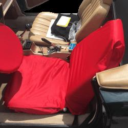 Protection de siège sur Fiat 124 Spider