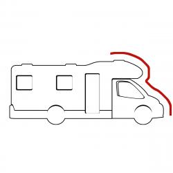 Housse de cabine de camping car