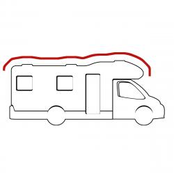 Housse de toit de camping car