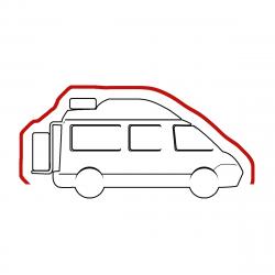 Housse intégrale Camping car Van aménagé