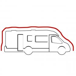 Housse intégrale camping car Profilé