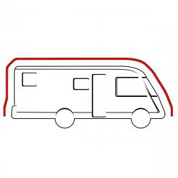 Housse intégrale pour camping car type intégral