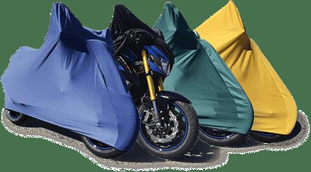 Housses pour motos et 2 roues